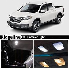 16x White Interior Package Kit LED Lights for 2017 Honda Ridgeline + TOOL