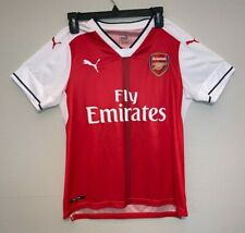 Puma Arsenal 2016/17 Home Soccer Jersey Youth Kids Large Authentic