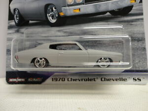Hot Wheels 1970 Chevy CHEVELLE SS Gray '70 w/RR FAST & FURIOUS #2/5