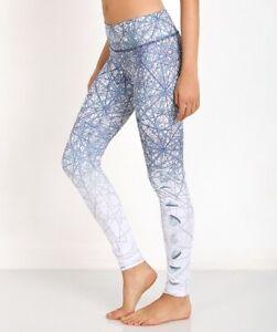 Onzie Size M/L Women's Moon Luna Graphic Yoga Leggings Full Length Activewear