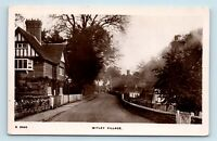 Whitley, Cheshire, England - EARLY 1900s STREET SCENE - KINGSWAY PHOTO RPPC