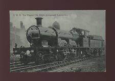 GWR Railway LA FRANCE De Glehn Compound Locomotive Unused pre1919 PPC