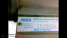 WEBER 1105086 SCREW DRIVING SPINDLE #198870