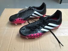 Adidas Predator Absolado LZ TRX FG - Black/White/Berry UK 7.5 (BPE79)
