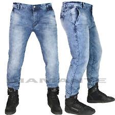 Jeans Uomo Denim Pantaloni Tasca america Elasticizzati Nuovo 9548