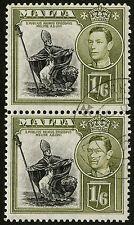 British Colony Used George VI (1936-1952) Maltese Stamps