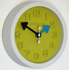 NEW 20cm Newgate Tic Wall Clock - White Green Modern Kitchen Clock Unique Gift