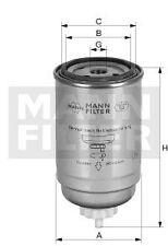 Filtre à carburant Mann Filter pour: CASE-IH (CNH GLOBAL), CLAAS, DEUTZ-FAHR,