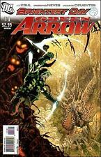 1:10 Justiniano variant GREEN ARROW #11 1st print comic DC 2011 tv BRIGHTEST DAY