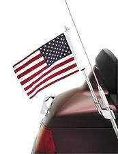 SHOW CHROME 52-713 FOLDING ANTENNA MOUNT FLAG POLE USA FLAG GOLDWING 88-16