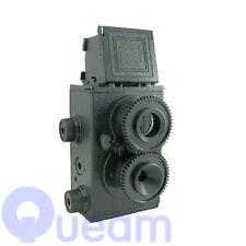 Recesky DIY Twin Lens Reflex TLR 35mm Holga Lomo Camera Kit Color Black Classic