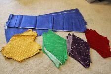 60 Degree Diamond Rhombus Quilting Patchwork fabric quilt squares lot