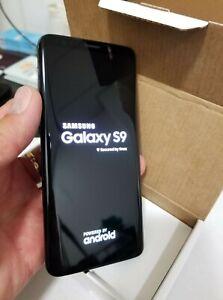 Samsung Galaxy S9, 64GB - Black (Unlocked),AT&T,Bell,Chatr...