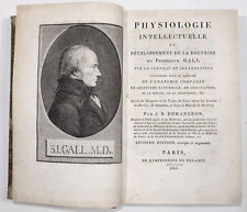 Demangeon, Physiologie intellectuelle 1808 Phrenologie - Physiologie