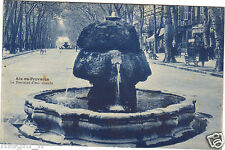 13 - cpa - AIX EN PROVENCE - La fontaine d'eau chaude (H6737)