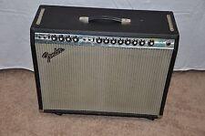 Fender Twin Reverb Amplifier, 1974 Silverface now blackfaced