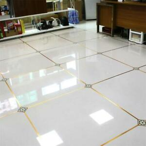 Copper Floor Tile Stickers Gap Sticker Length 50m for Club Wall Ornament
