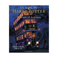 J K Rowling Harry Potter and Prisoner of Azkaban Illustrated Edition Brand New