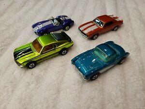 Matchbox superfast corvette, camaro, mustang, cobra