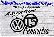 """Adhesivos con el logotipo de Volkswagen 22"""" VW Transporter T6 T5 T4 Calcomanía Euro caravanas Bonnet"""