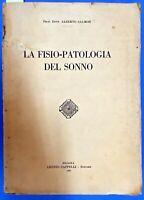 1930 - SALMON, Alberto - LA FISIO PATOLOGIA DEL SONNO