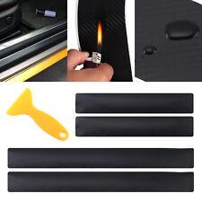 4x Einstiegsleisten Schutz und Ladekantenschutz Folie Schutz Kratzer Carbon