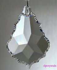 Suncatcher Hanging Crystal Drop Rainbow Prism Feng Shui Mobile 76x53mm Large