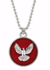 Holy Spirit Dove Medal Pendant On Chain Christian Catholic Gift SALE THIS WEEK