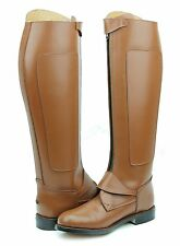Hispar Invader-2 Man Men's Tall Knee High Leather Equestrian Polo Boots