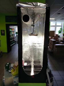 LED Growset 60 Komplettset Growzelt Growbox Samsung Quantum Board 120W LM301H