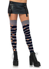 4e936b438af Women s Teen Girls Distressed Striped Thigh Highs One Size Leg Avenue  Lingerie