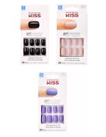Kiss Gel Fantasy Color Nails GELFANTASY Long - 28 Ct chose your color
