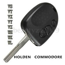 3 BUTTON REMOTE KEY FOB SHELL BLADE for VS WH WK WL VT VX VY VZ HOLDEN COMMODORE