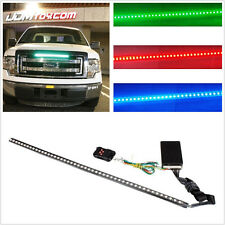 Waterproof 12V Multi-Colour 48LED Autos Knight Rider Front Grilles Strobe Light