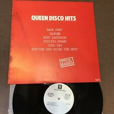 Promo-Only Queen Disco Hits Japan LP Ps-210 W / Ps 6 Tracks 1982 Édition Free