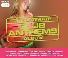 Ultimate Club Anthems (NEW 3 x CD) Eric Prydz Matt Darey Deepest Blue Tim Deluxe