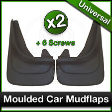 Custom MOULDED Car MUDFLAPS Contour Mud Flaps VW VOLKSWAGEN Front SET