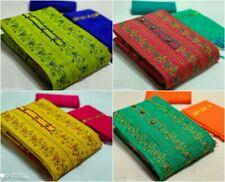 Indian Cotton Salwar Kameez Traditional Dress Elegant Kashmiri Work Women Cloth
