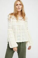 "NWT $198 Free People ""Someday Sweater"" in Ivory size XS (runs Large)"