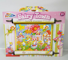 Childs Fairy Town Floor Puzzle Kids 45 Piece Medium Educating Jigsaw 63cm x 43cm