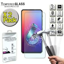 2 Pack Tempered Glass Screen Protector Cover For Asus ZenFone 6