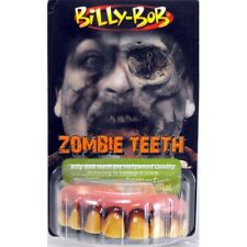 Teeth Billy Bob Zombie Teeth Fancy Dress Acrylic with Fixative
