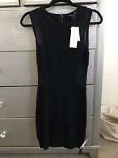French Connection FCUK Women Beautiful Little Black Sleeveless Dress Size 2