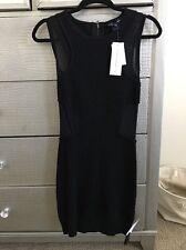French Connection FCUK Women Beautiful Little Black Sleeveless Dress Size 2
