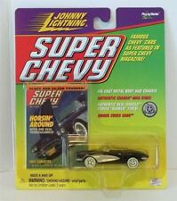 JOHNNY LIGHTNING SUPER CHEVY MAGAZINE 1961 CHEVROLET CORVETTE BLACK NRFP 291-04