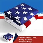 American USA US Flag 2x3 ft UV Embroidered Stars Sewn Stripes Brass Grommets US