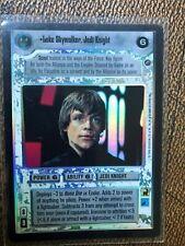 Star Wars CCG Luke Skywalker Jedi Knight UR Foil Reflections 2 (Fresh From Pack)