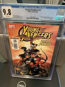 Young Avengers #12 CGC 9.8 1st app Tommy Shepard as Speed, Kate Bishop MCU