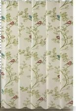 New Elegant Home Fashions Birds Shower Curtain 674278650221