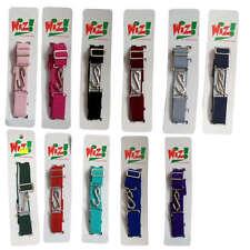 Children's Kids Adjustable Snake Belt Ages 1-10 Elasticated All Colours Belt